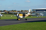 Reims Rocket FR 172 G, D-EANT, rollt zum Start in EDKB - 23.10.2015