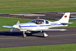 Lancair 235 Experimental, D-EHAU, taxy in EDKB 27.11.2015