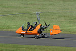 Auto Gyro MT-03, D-MBGO, rollt zum Start in EDKB 20.04.2016