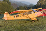 Private, D-EDFZ, Piper, L-18C Super Cub, 10.09.2016, EDST, Hahnweide, Germany