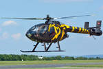 MD 520 N, HB-ZTI, hovert in EDRK - 19.07.2016