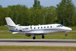 Privat, G-CGMF, Cessna 560XL, 18.Mai 2016, BSL Basel, Switzerland.
