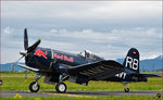 Red Bull OE-EAS, Vought F4U-4 Corsair; Flying Bulls Trainings Camp auf Maribor Flughafen MBX.