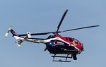 MBB Bo 105, D-HUDM, Servus TV, RED BULL AIR RACE, Lausitzring, 3.9.2016