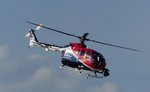 MBB Bo-105, D-HUDM, Servus TV, RED BULL AIR RACE, Lausitzring, 3.9.2016