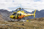 Heli Bernina, HB-ZMU, Eurocopter, AS 350B3, 08.10.2016, Bernina Pass, Switzerland