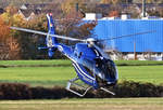 EC 120 der Bundespolizei, D-HARE, beim Start in EDKB - 18.11.2020