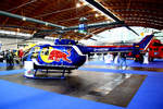 Red Bull - The Flying Bulls,  Messerschmitt-Bölkow-Blohm-(MBB) Bo 105, D-HSDM.