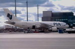 Pakistan International Airlines (PIA), AP-BGO, Airbus A310-324 in Oslo-Gardermoen.