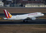Germanwings, Airbus A 319-112, D-AKNN, TXL, 04.03.2017