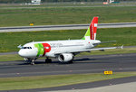 A 319-111 TAP Portugal, CS-TTB, taxy in DUS - 01.10.2015