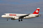 SWISS International Air Lines, HB-IPU, Airbus A319-112, 28.April 2016, ZRH Zürich, Switzerland.