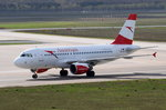 OE-LDC Austrian Airlines Airbus A319-112   zum Gate am 20.04.2016 in Tegel