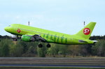 VP-BHJ S7 - Siberia Airlines Airbus A319-114   in Tegel gestartet am 04.05.2016