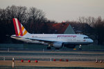 Germanwings A 319-112 D-AKNG kurz vor dem Start in Berlin-Tegel am 09.01.2016