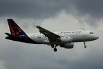 Brussels Airlines, OO-SSR,(4275),Airbus A 319-112,29.06.2026, HAM-EDDH, Hamburg, Germany
