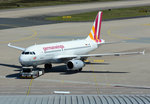 A 319-100 Germanwings D-AGWI, pushback in CGN - 05.05.2016