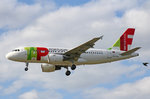TAP Portugal, CS-TTO, Airbus A319-111,  Antero de Quental , 01.Juli 2016, LHR London Heathrow, United Kingdom.