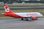 D-ABGQ Air Berlin Airbus A319-112  in Tegel zum Gate am 07.07.2016