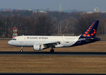 Brussels Airlines, Airbus A 319-112, OO-SSI, TXL, 08.03.2016