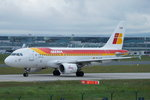 Iberia Airbus A319-111 EC-KUB, cn(MSN): 3651,  Frankfurt Rhein-Main International, 24.05.2016.