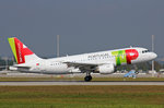 TAP Portugal, CS-TTK, Airbus A319-111,  Miguel Torga , 24.September 2016, MUC München, Germany.