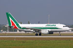 Alitalia, EI-IMV, Airbus A319-111, 24.September 2016, MUC München, Germany.