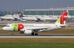 TAP Portugal, CS-TTM, Airbus A319-111,  Alexandre Herculano , 25.September 2016, MUC München, Germany.