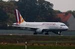 Germanwings, Airbus A 319-112, D-AKNS, TXL, 23.10.2016