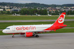 Air Berlin (Operated by Belair Airlines), HB-JOY, Airbus A319-112, 16.Mai 2016, ZRH Zürich, Switzerland.