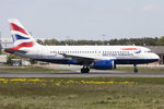British Airways, G-EUPW, Airbus, A319-131, 05.05.2016, FRA, Frankfurt, Germany