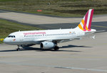 A 319-100 D-AGWP Germanwings - taxy in CGN - 05.05.2016