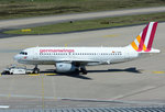A 319-100 Germanwings, D-AGWD, pushback in CGN - 05.05.2016