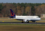 Brussels Airlines, Airbus A 319-111, OO-SSW, TXL, 09.04.2016