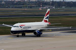 British Airways, Airbus A 319-131, G-EUPL, TXL, 10.04.2016