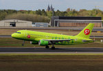S7 Airlines, Airbus A 319-114, VP-BHJ, TXL, 04.05.2016