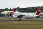 Air Portugal, CS-TTD, Airbus, A319-111, 22.06.2016, LUX, Luxembourg , Luxembourg