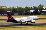 Brussels Airlines, Airbus A 319-111, OO-SSG, TXL, 20.07.2016