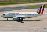 A 319-100 Germanwings, D-AGWP taxy in CGN - 10.07.2016