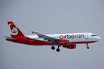 Air Berlin, D-ABZC, Airbus A320-216, 19.Januar 2017, ZRH Zürich, Switzerland.