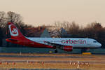 Air Berlin, Airbus A 320-214, D-ABNI, TXL, 31.12.2016