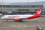 Air Berlin, D-ABFE, Airbus A320-214, 19.Januar 2017, ZRH Zürich, Switzerland.