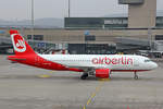 Air Berlin (Operated by Belair Airlines), HB-JOZ, Airbus A320-214, 11.Februar 2017, ZRH Zürich, Switzerland.