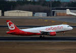Air Berlin, Airbus A 320-216, D-ABZI, TXL, 04.03.2017