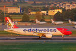 Edelweiss Air, HB-JJK, Airbus A320-214, msn: 1692,  Sorebois , 01.August 2018, ZRH Zürich, Switzerland.