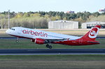 D-ABZJ Air Berlin Airbus A320-216   abgehoben in Tegel am 20.04.2016