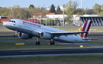 D-AIQN Germanwings Airbus A320-211   gestartet in Tegel am 20.04.2016