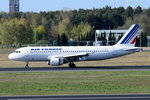 F-GKXS Air France Airbus A320-214  gelandet am 20.04.2016 in Tegel
