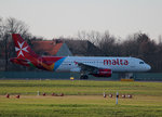 Air Malta A 320-214 9H-AEP kurz vor dem Start in Berlin-Tegel am 06,12,2015