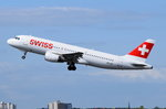 HB-IJP Swiss Airbus A320-214   gestartet am 04.05.2016 in Tegel